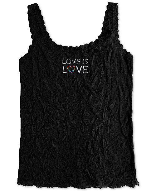 Hanky Panky Plus Size Love Is Love Classic Camisole 1390LLX