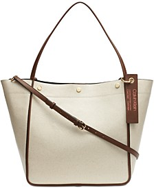 Amber Canvas Tote