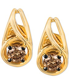 Chocolatier® Diamond Stud Earrings (1/3 ct. t.w.) in 14k Gold