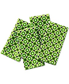 Octagon Geo Clover Napkins, Set of 4