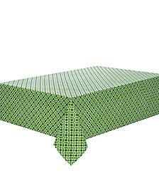 "C. Wonder Octagon Geo Clover 84"" Tablecloth"