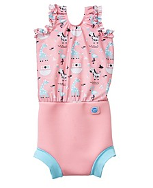 Girl's Happy Nappy Swim Diaper Swimsuit Nina's Ark 2-3 Years