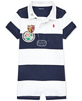 9dee7e6dd Polo Ralph Lauren Baby Boys Striped Cotton Rugby Shortall