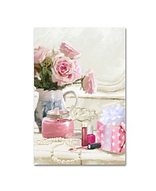 "The Macneil Studio 'Close Up Dress Table' Canvas Art - 19"" x 12"" x 2"""
