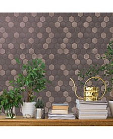 Hexagon Tile Self-Adhesive Wallpaper