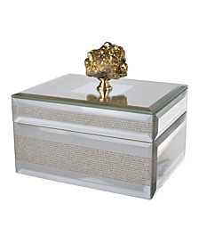 Sullivan Striped Decorative Box, Small