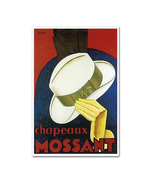 "Trademark Global Vintage Lavoie 'Ads-0029' Canvas Art - 47"" x 30"" x 2"""