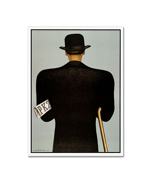 """Trademark Global Vintage Lavoie 'Ads-0087' Canvas Art - 47"""" x 35"""" x 2"""""""