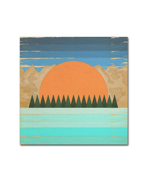 "Trademark Global Tammy Kushnir 'The Scenic View 2' Canvas Art - 35"" x 35"" x 2"""