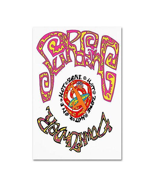 """Trademark Global Miguel Balbas 'Surfing Down Under' Canvas Art - 32"""" x 22"""" x 2"""""""