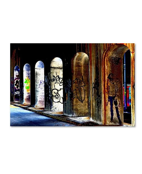 "Trademark Global The Lieberman Collection 'Arches' Canvas Art - 47"" x 30"" x 2"""