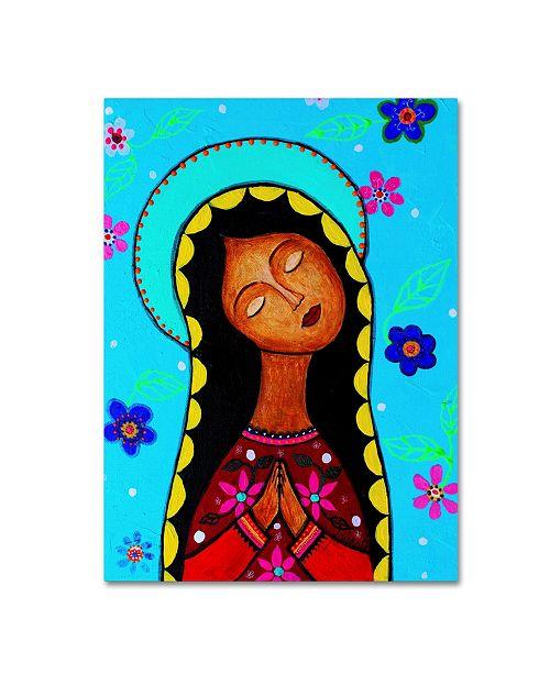"Trademark Global Prisarts 'Charlotte's Virgin Guadalupe' Canvas Art - 47"" x 35"" x 2"""