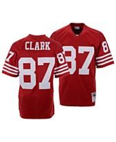 0cb8266b4fe Mitchell   Ness Men s Dwight Clark San Francisco 49ers Replica Throwback  Jersey