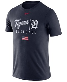 Nike Men's Detroit Tigers Memorial Day Dri-FIT Practice T-Shirt