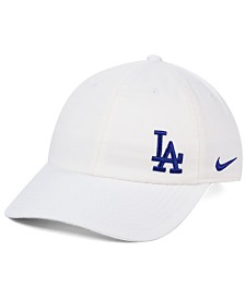 Nike Women's Los Angeles Dodgers Offset Adjustable Cap