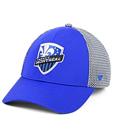Authentic MLS Headwear Montreal Impact Versalux Speed Flex Stretch Fitted Cap