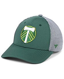 Authentic MLS Headwear Portland Timbers Versalux Speed Flex Stretch Fitted Cap