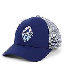 Authentic MLS Headwear Vancouver Whitecaps FC Versalux Speed Flex Stretch Fitted Cap