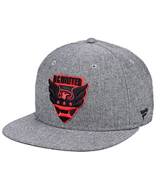 Authentic MLS Headwear DC United Chambray Snapback Cap