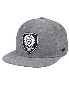 Authentic MLS Headwear Orlando City SC Chambray Snapback Cap