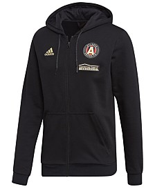 adidas Men's Atlanta United FC Hooded Travel Jacket