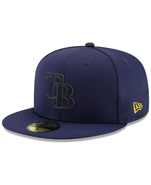 New Era Boys' Tampa Bay Rays Clubhouse 59FIFTY-FITTED Cap