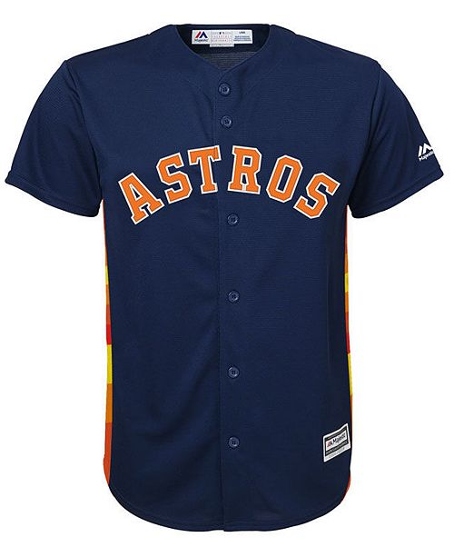 finest selection 5d297 c9a27 Big Boys Alex Bregman Houston Astros Player Replica Cool Base Jersey