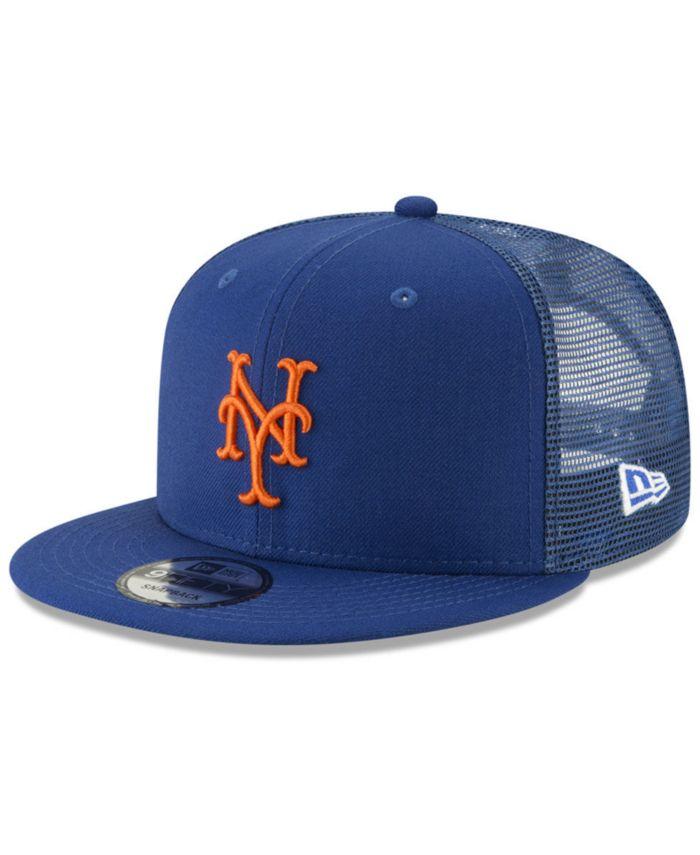 New Era New York Mets All Day Mesh Back 9FIFTY Cap & Reviews - Sports Fan Shop By Lids - Men - Macy's