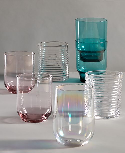 The Cellar Fashion Glassware Collection, Created for Macy's