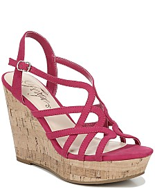 Fergie Villa Wedge Sandals