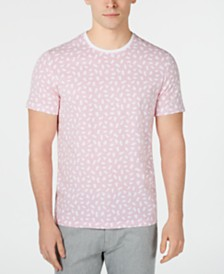 Alfani Men's Brushstroke Dot Graphic T-Shirt, Created for Macy's