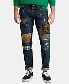 Polo Ralph Lauren Men's Sullivan Slim Distressed Cotton Jeans