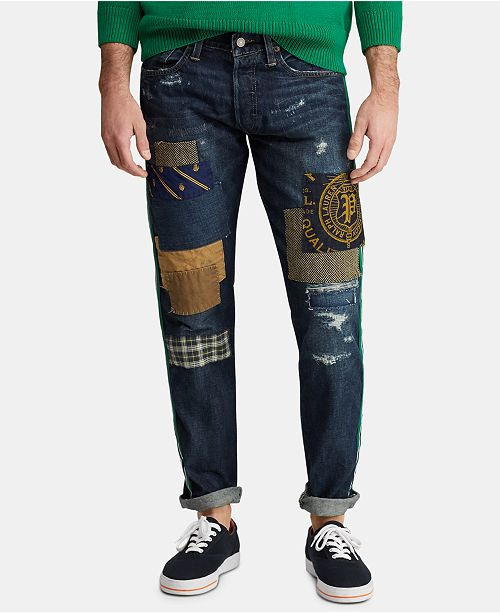 Cotton Sullivan Slim Men's Jeans Distressed 8vmNwn0