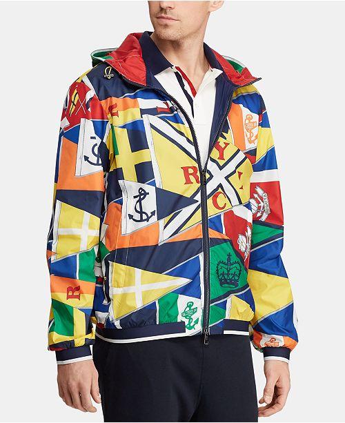 Polo Ralph Lauren Men's Graphic Water-Repellent Jacket