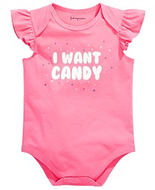 First Impression's Baby Girl's Candy Bodysuit, Created for Macy's