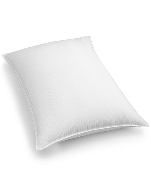 Hotel Collection White Down 300-Thread Count Medium Standard/Queen Pillow, Created for Macy's
