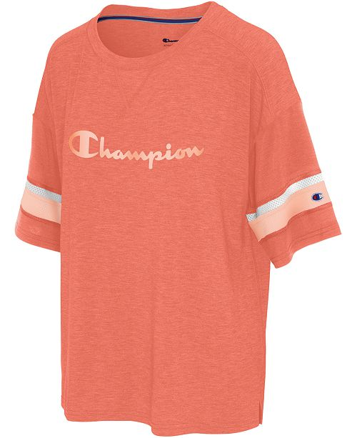 Champion Double Dry Football T-Shirt