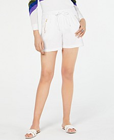INC Zipper-Pocket Shorts, Created for Macy's