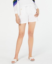 I.N.C. Zipper-Pocket Shorts, Created for Macy's