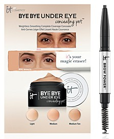 Receive a Free Trial-Size Bye Bye Under Eye Concealer and Brow Power Pencil with any $55 IT Cosmetics Purchase!