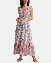 ea73e3f6813 Lucky Brand Cotton Printed Chloe Maxi Dress