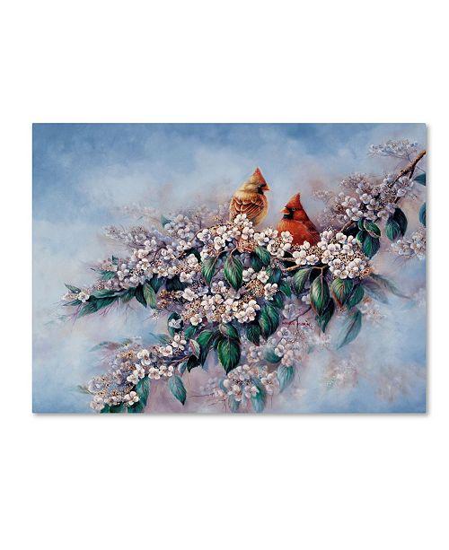 """Trademark Global Wanda Mumm 'Royal Courtship' Canvas Art - 32"""" x 24"""" x 2"""""""