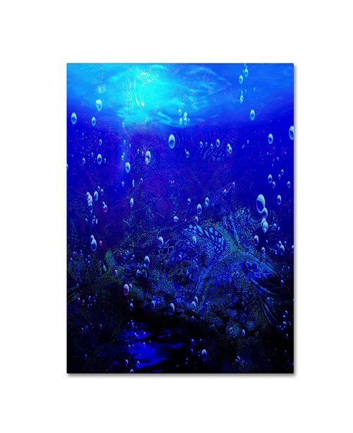 "Trademark Global MusicDreamerArt 'Underwater' Canvas Art - 24"" x 18"" x 2"""