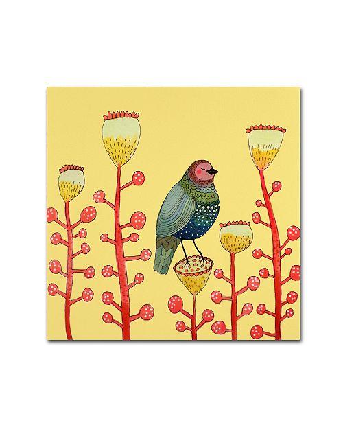 """Trademark Global Sylvie Demers 'Le Petit Matin' Canvas Art - 24"""" x 24"""" x 2"""""""