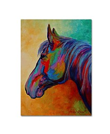 "Marion Rose 'Casino Bay Horse 1' Canvas Art - 47"" x 35"" x 2"""