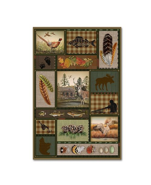 "Trademark Global Jean Plout 'Wilderness Lodge 19' Canvas Art - 32"" x 22"" x 2"""