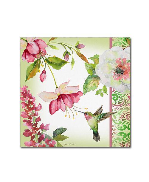 "Trademark Global Jean Plout 'Garden Party 2' Canvas Art - 24"" x 24"" x 2"""
