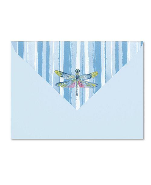 "Trademark Global Jean Plout 'Envelope 5' Canvas Art - 24"" x 18"" x 2"""