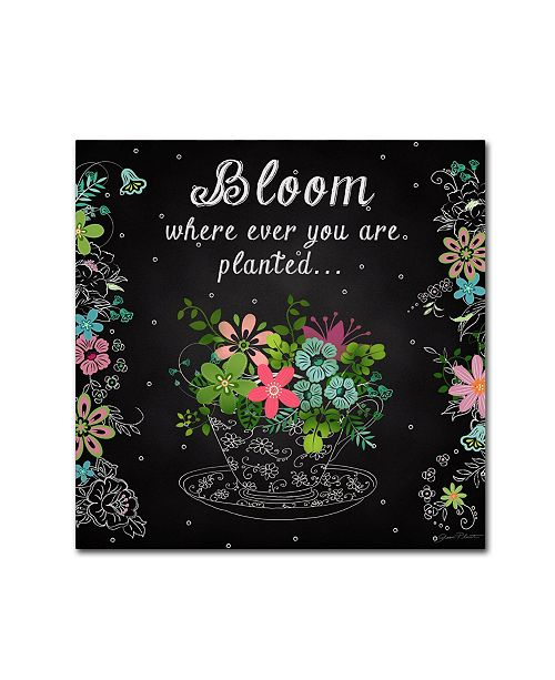"""Trademark Global Jean Plout 'Bloom Where Planted' Canvas Art - 24"""" x 24"""" x 2"""""""