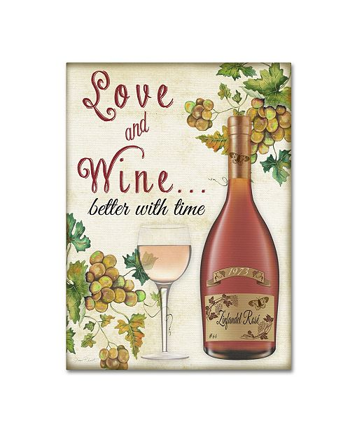 "Trademark Global Jean Plout 'Wine 2' Canvas Art - 32"" x 24"" x 2"""